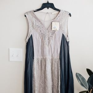 NWT Ryu Lace Shift Dress